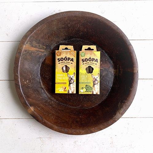 soopa pets banana & kale dental combo