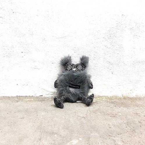 max bone 'olga the owl' plush toy