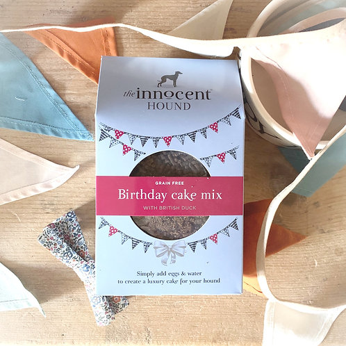Innocent Hound - BIRTHDAY cake mix