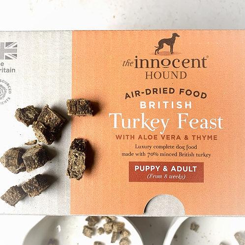 The Innocent Hound Turkey Feast - Raw Dry Food