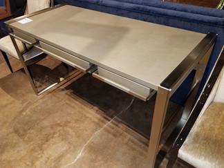 Satin Nickel Desk Frame