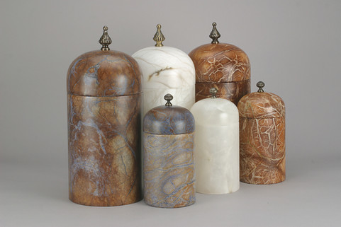 Alabaster Urns