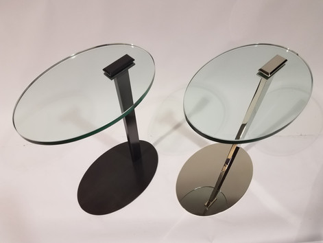 Sister Oval Cantilever Tables