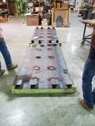Massive Steel Table Base and Frame