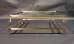 Custom Acyrlic Leg Coffee Table