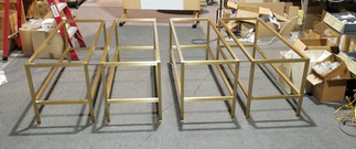 Family of Brass Benches
