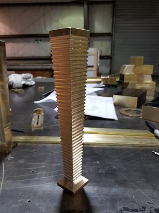 Solid Brass Furniture Leg