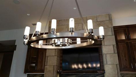 Custom Oval Dining Lamp