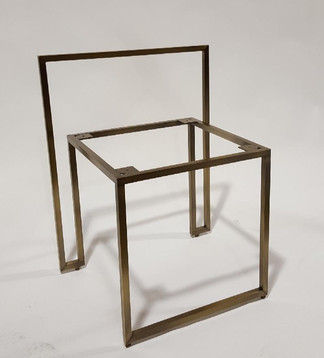 Solid Brass Chair Frame