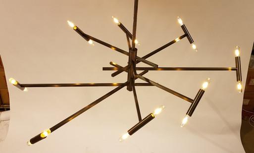 Custom Spirale Ceiling Fixture