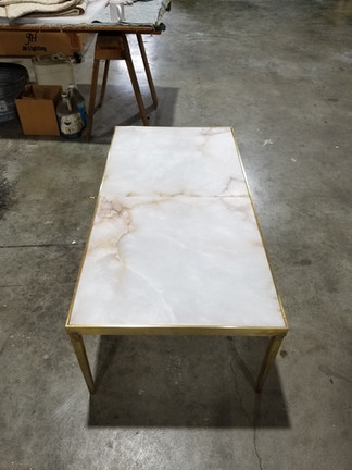Alabaster Concept Table