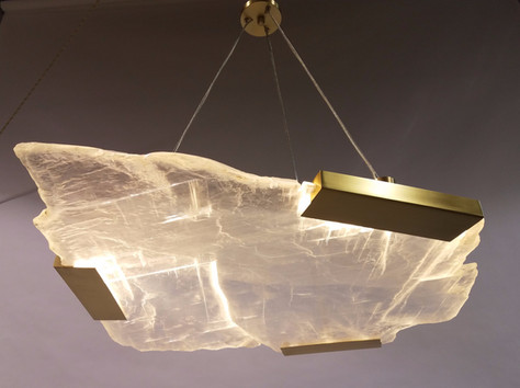 Limited Edition Selenite Fixture