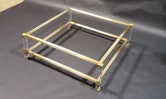 Custom Acrylic Leg Table