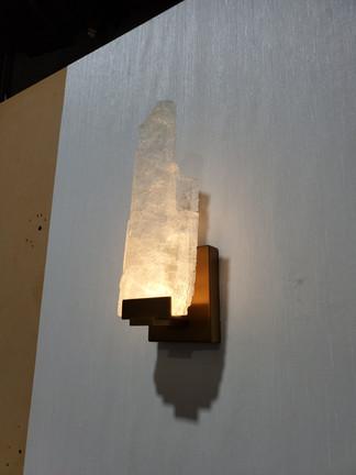 Prototype Selenite Wall Lamp