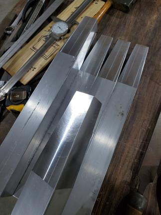 Aluminum Bench Legs