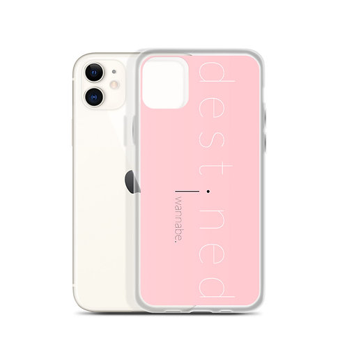 destined Pink iPhone Case 4f