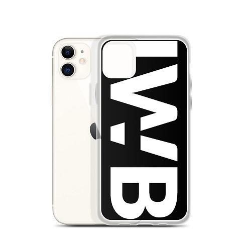 iwannabe Black White Bold iPhone Case 4f