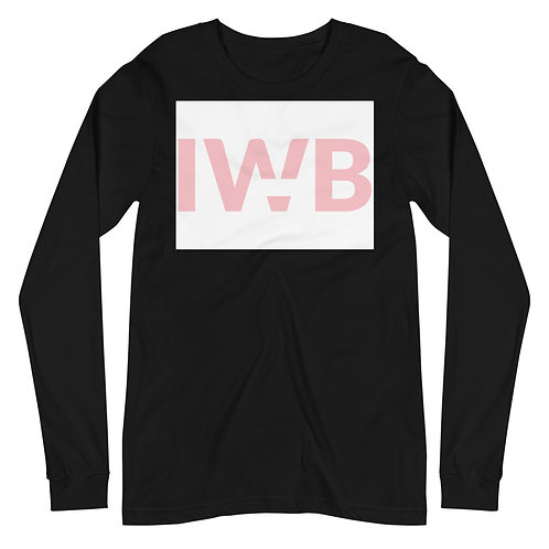 iwannabe White Pink Bold Longsleeve 4d