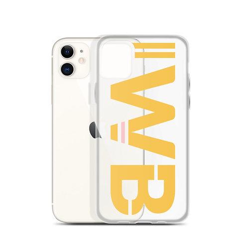 iwannabe Yellow Bold iPhone Case 4f
