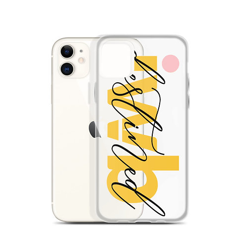 iwannabe destined Yellow iPhone Case 4f
