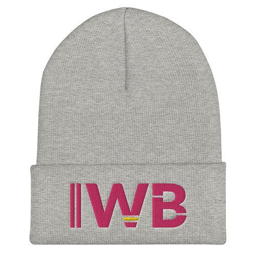 iwannabe Pink Bold Cuffed Beanie 4j