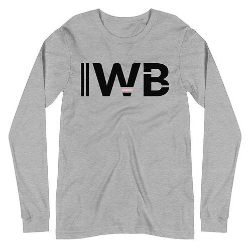 iwannabe Black Pink Bold Longsleeve 4d