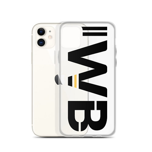 iwannabe Black Yellow Bold iPhone Case 4f