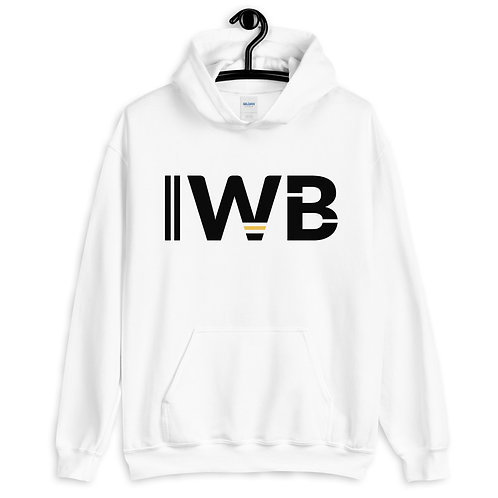 iwannabe Black Yellow Bold Pullover Hoodie 4e
