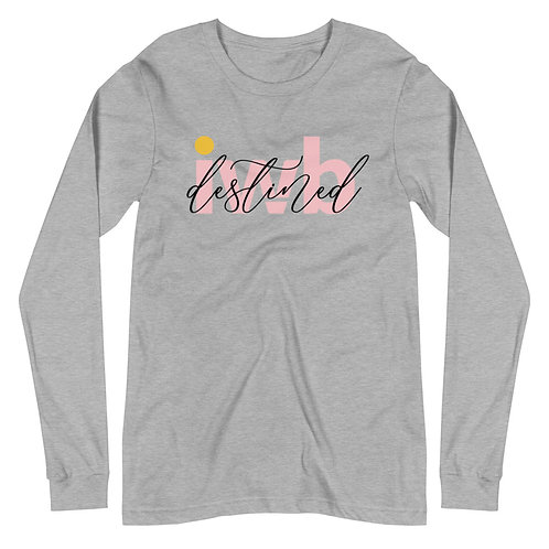 iwannabe destined Pink Long Sleeve 4d
