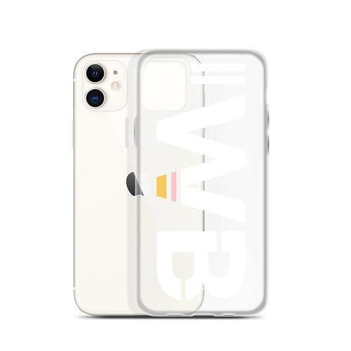 iwannabe White Bold iPhone Case 4f
