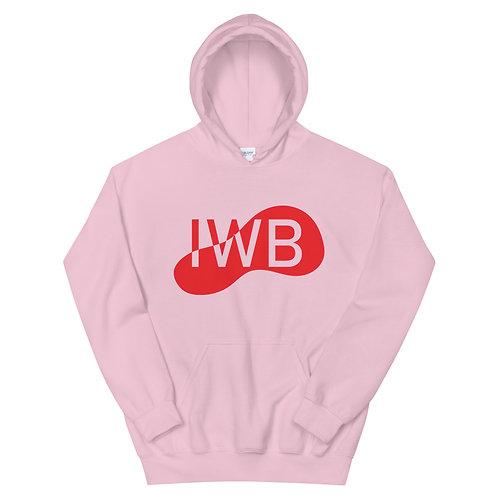 Red Bloop IWB Pullover Hoodie 4e