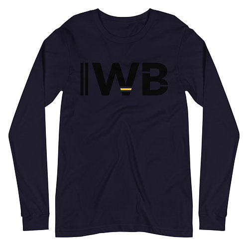 iwannabe Black Yellow Bold Longsleeve 4d