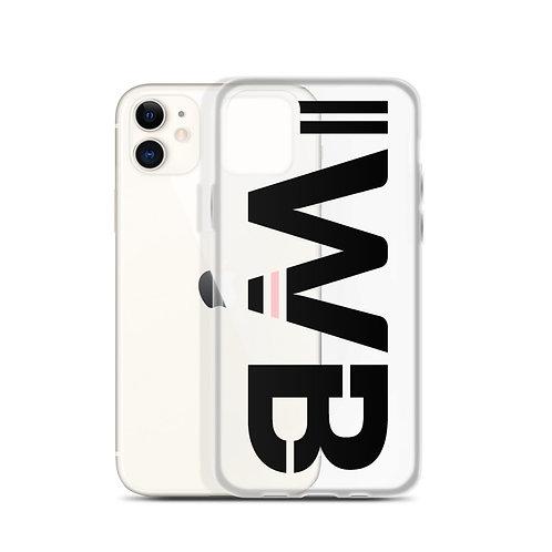 iwannabe Black Pink Bold iPhone Case 4f