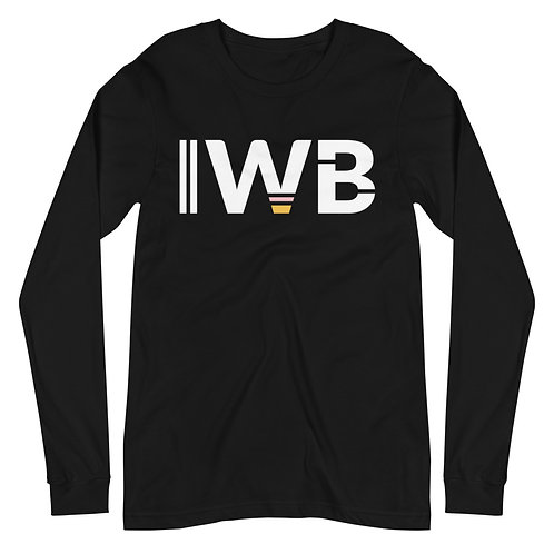 iwannabe White Bold Longsleeve 4d