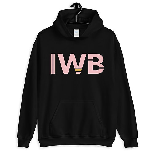 iwannabe Pink Bold Pullover Hoodie 4e