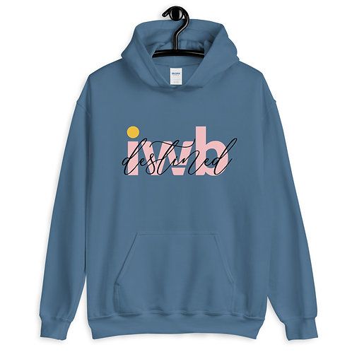 iwannabe destined Pink Pullover Hoodie 4e