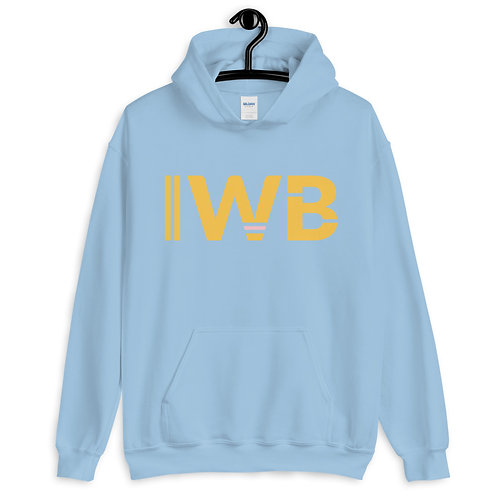 iwannabe Yellow Bold Pullover Hoodie 4e