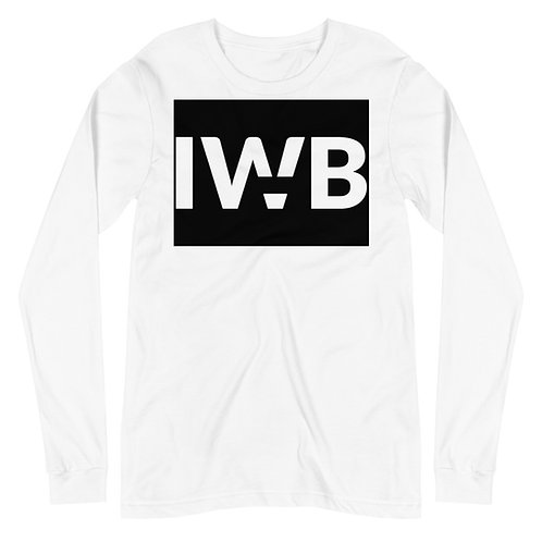 iwannabe Black White Bold Longsleeve 4d