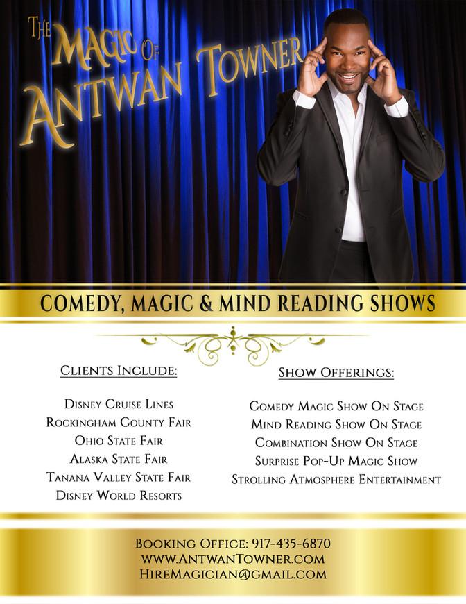 Florida's #1 Five Star Magician Antwan Towner
