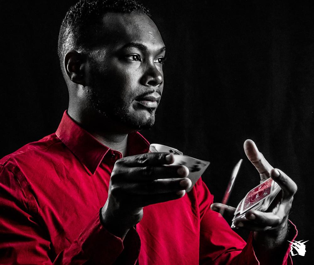 Magician Antwan Towner in Florida