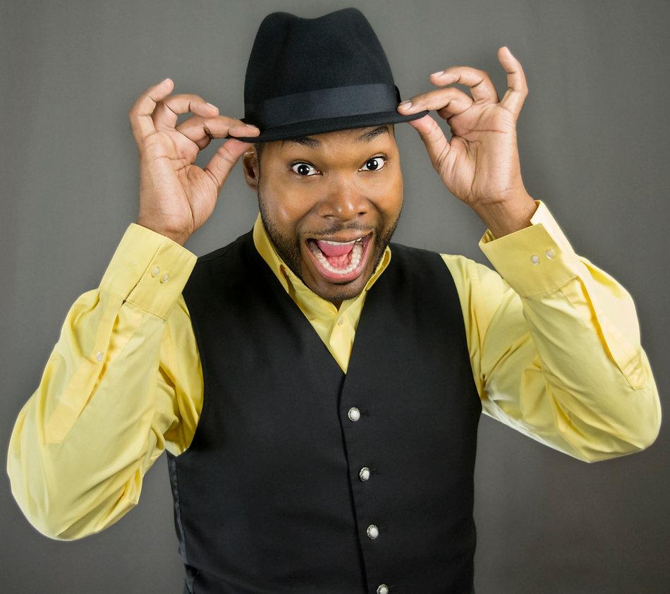 magician in hat Antwan Towner