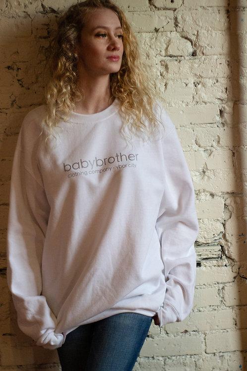 Sweatshirt - Silver Letter
