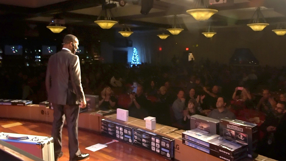 Florida Magician Antwan Towner on Stage