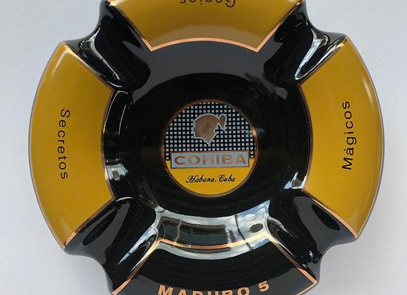 Cohiba Maduro 5 Cigar Ashtray - Black