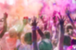 People at Color Run