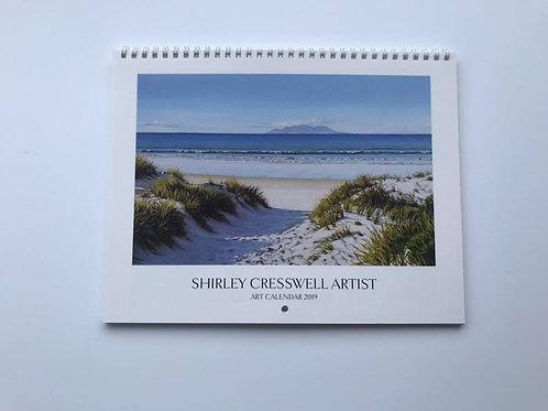 Shirley Cresswell Art Calendar 2019