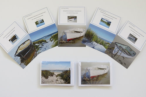 Boats and Beach Card Set (5 in a pack)