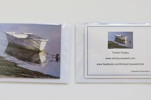 Tender Dinghy Card