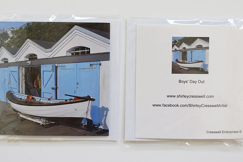 Boys Day Out Card