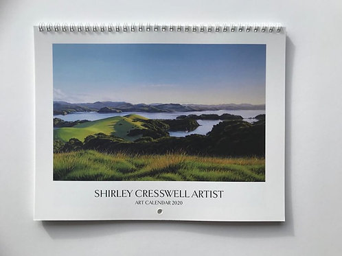Shirley Cresswell Art Calendar 2020 (International orders)
